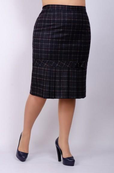 Модна юбка в клетку SVK-260120A225