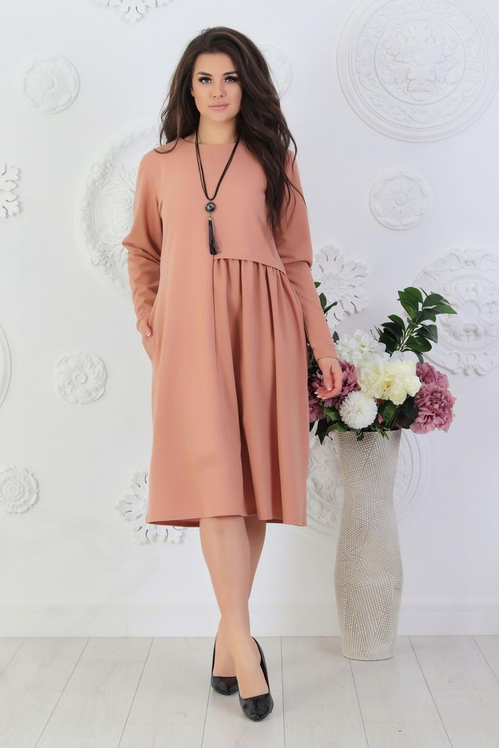 Женское свободное платье ND-370A340