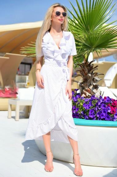 Платье халат под пояс VM-9298A9.5
