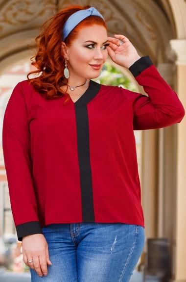 Блузка с v образным вырезом DG-d41324A180