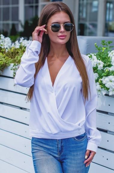 Женская блузка с запахом NBV-265A12