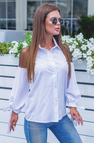 Стильная нарядная блузка NBV-268A13