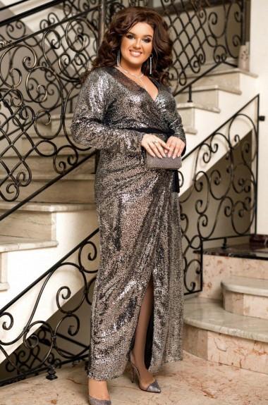 Платье в пол с пайетками EY-328A33B38