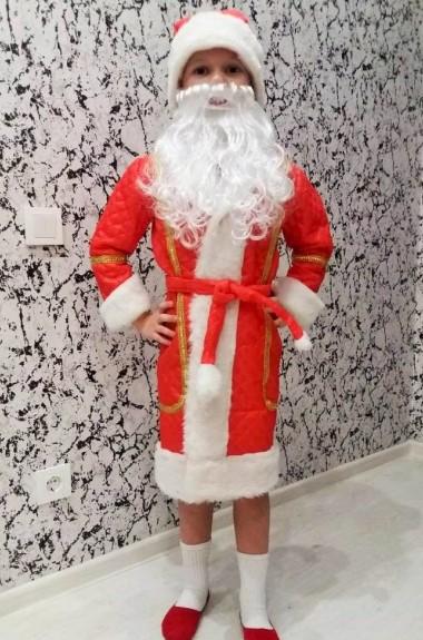 Новогодний костюм Деда Мороза детский RZ-261119A320