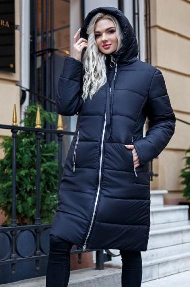 Прямое пальто с капюшоном LIA-7295A20