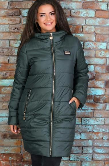 Куртка с капюшоном женская зима NAO-41119A750