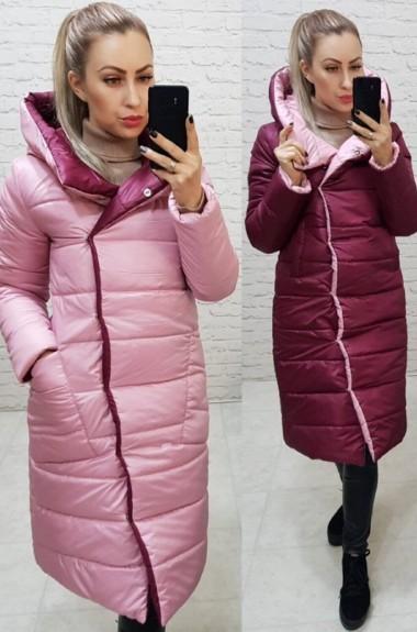 Длинная двухсторонняя куртка MUN-1007A800