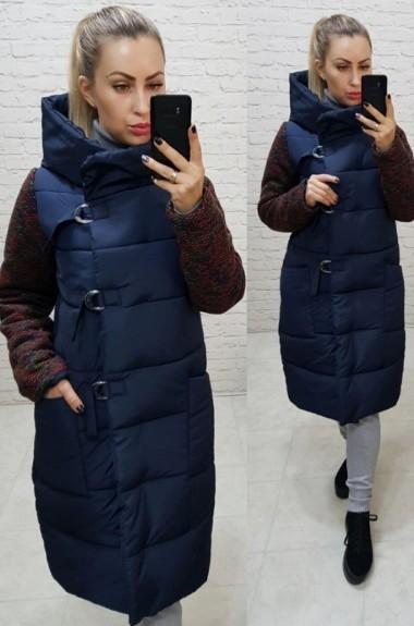 Комбинированная куртка женская MUN-181A850