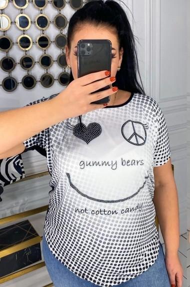 Красивая футболка женская DG-p2941A100