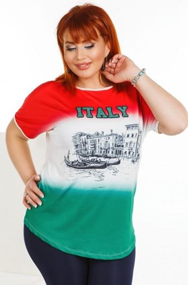 Модная футболка с принтом DG-p7735A100