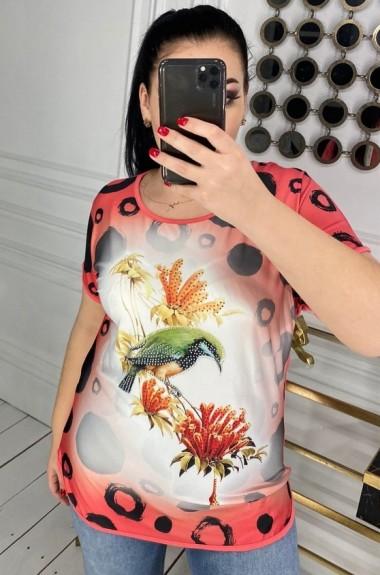 Летняя женская футболка DG-at4639A150