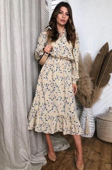 Красивое платье миди с маской VT-303207A450