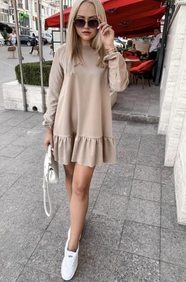 Трикотажное платье с юбкой VM-9371A9.5