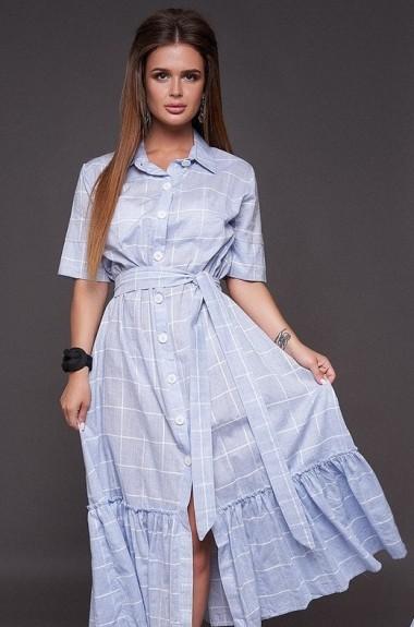 Летнее платье на пуговицах NAP-1085A440B460