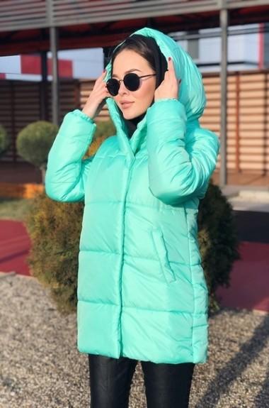 Куртка с капюшоном теплая EP-505A395