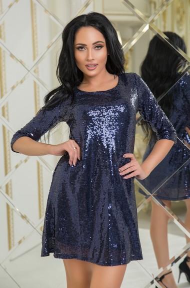 Платье блестящее с пайетками KV-N555A250