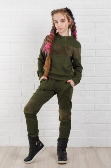 Детский костюм с мехом KL-325