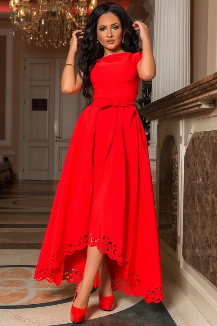 Красивое длинное платье в пол KV-572