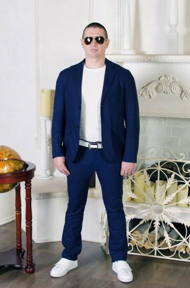 Мужской деловой костюм EV-738
