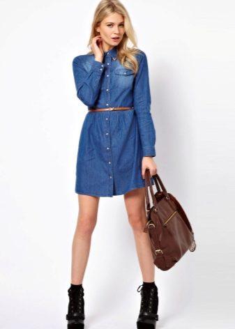 1414f05e94a3baf Купить джинсовые платья в интернет магазине. Свыше 200 вариантов