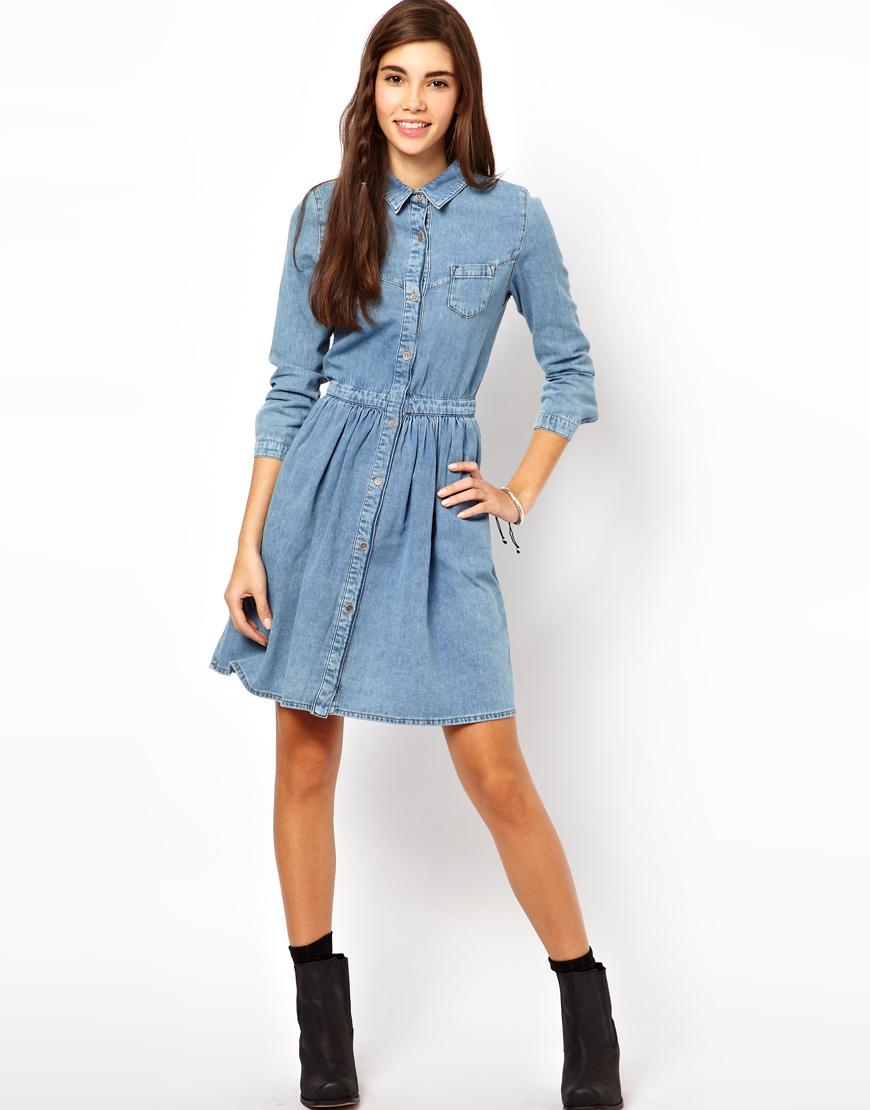 e236d173154 Купить джинсовые платья в интернет магазине. Свыше 200 вариантов