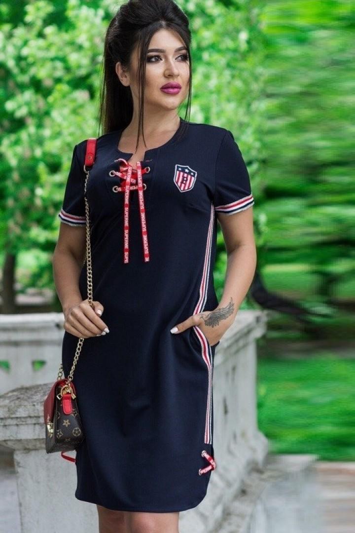 короткое спортивное платье