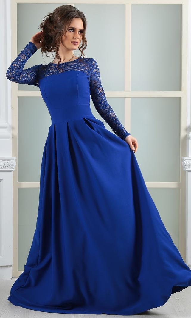 красивые длинные синие платья фото вклад фотографа