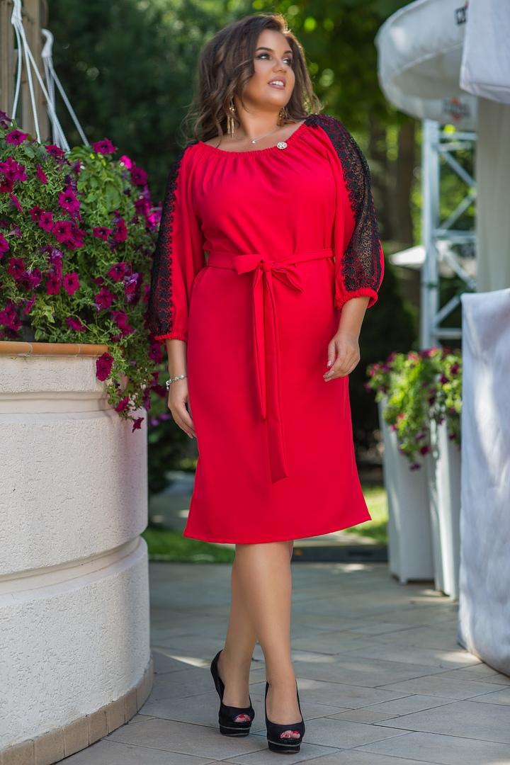 купить женское платье большого размера