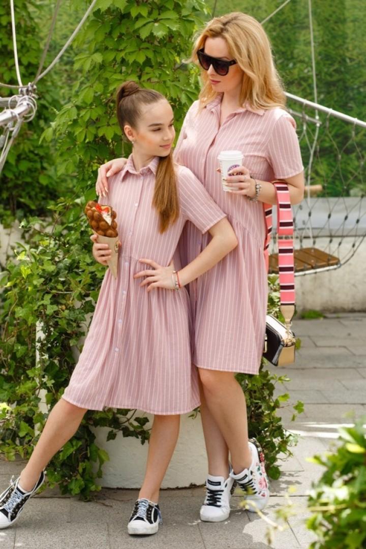одинаковая одежда мама и дочка