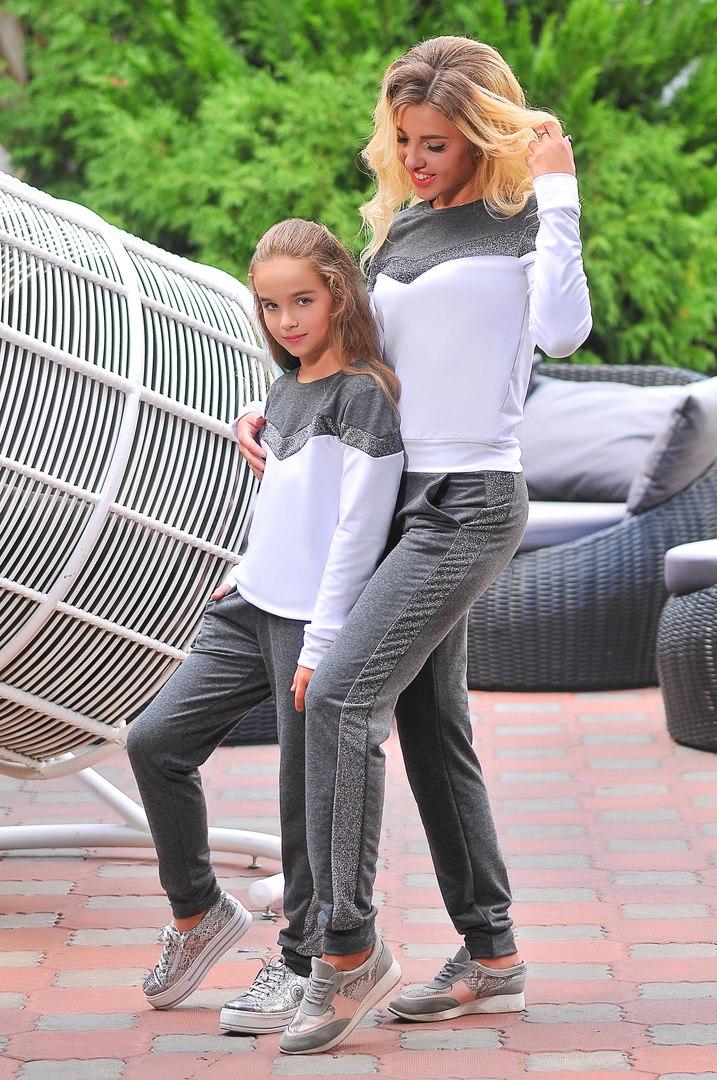 комплект мама и дочка