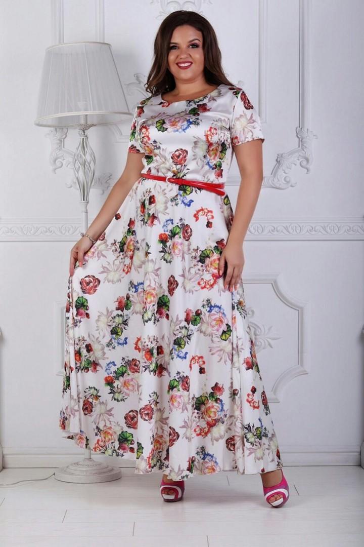 летнее платье оверсайз
