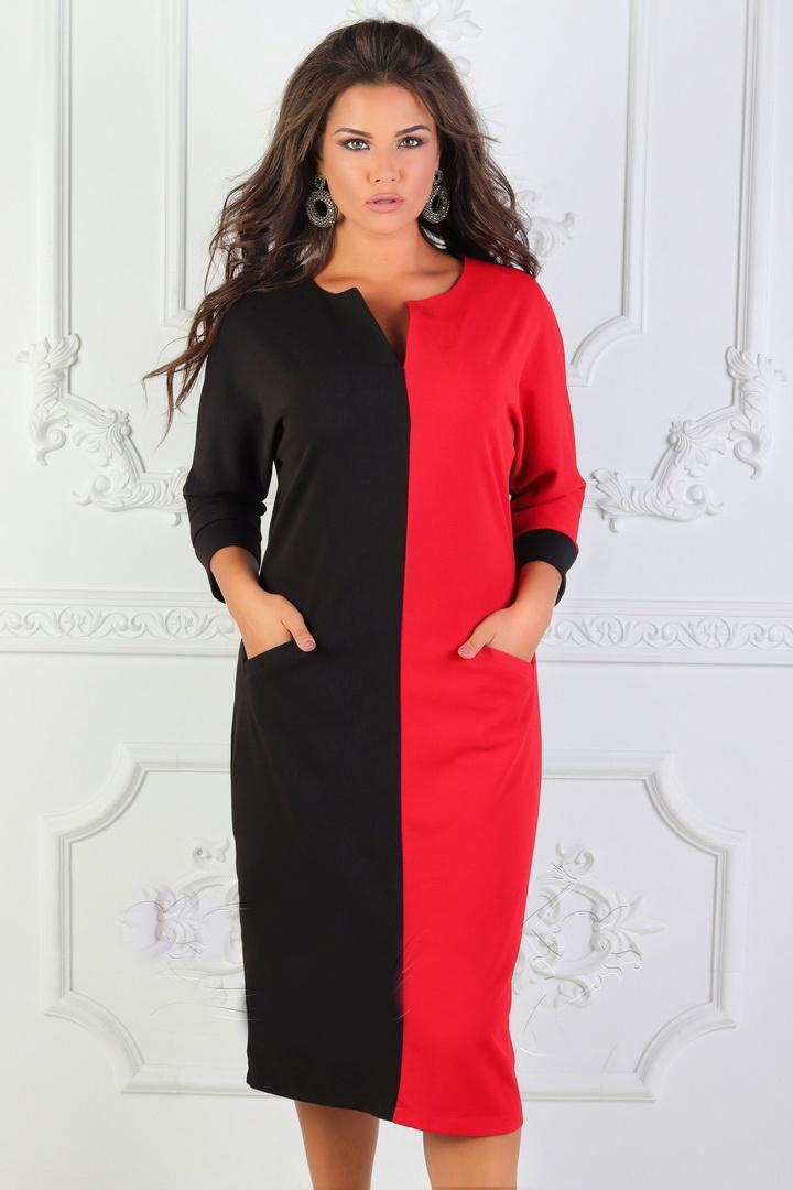 купить весеннее платье большого размера