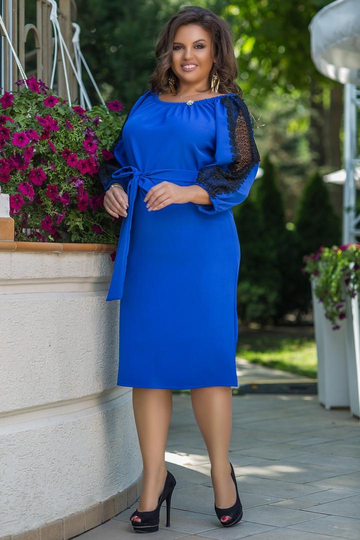 купить платье большого размера