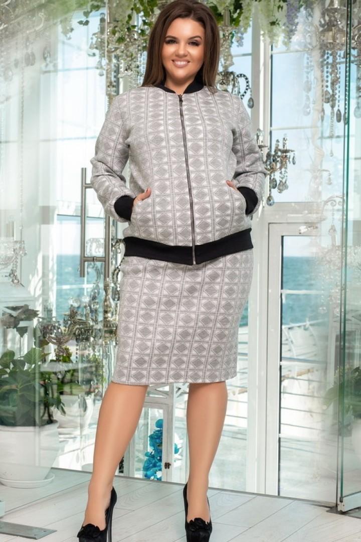 купить зимний женский костюм большого размера