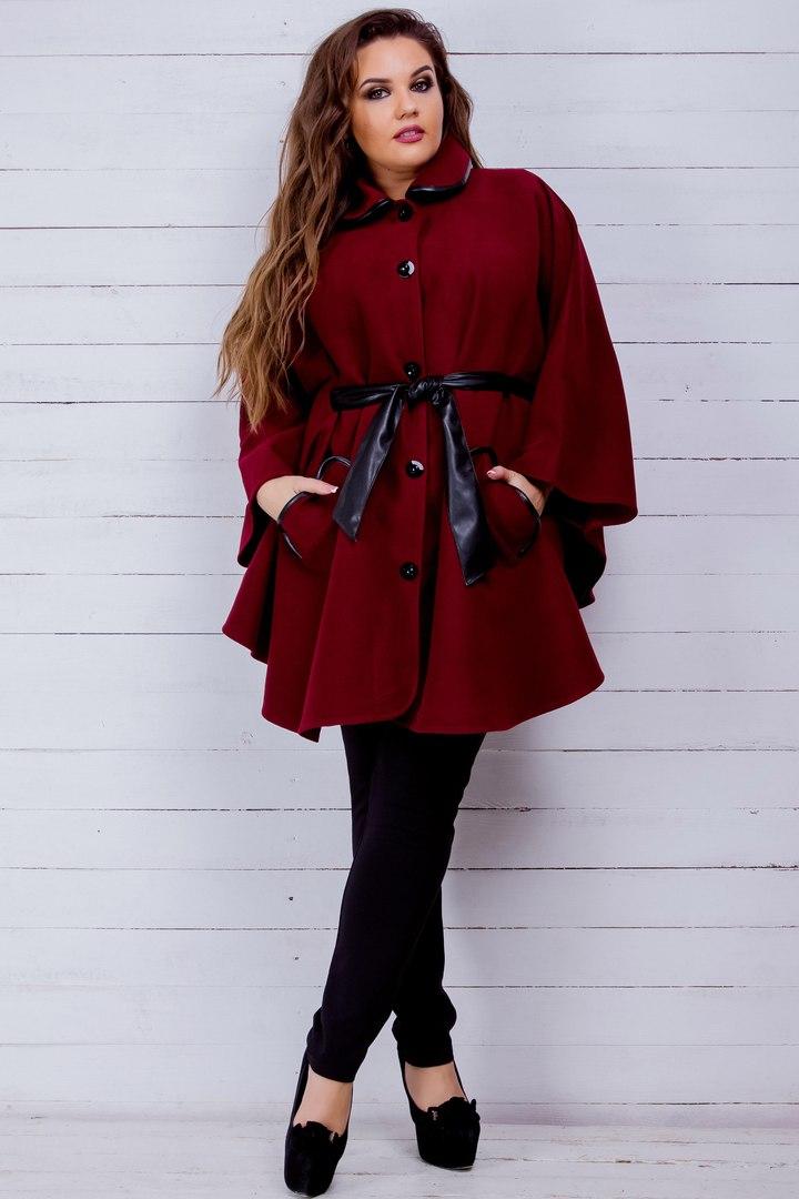 купить женское пальто для полных