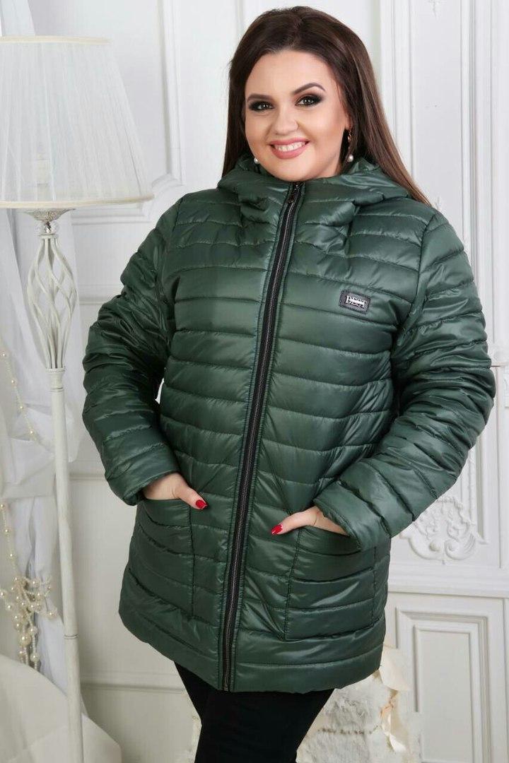 весенняя куртка большого размера