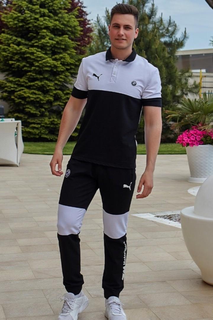весенний мужской спортивный костюм