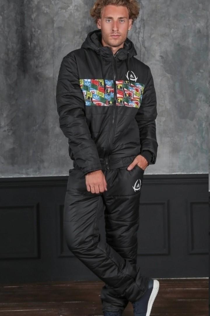 спортивный мужской костюм на зиму