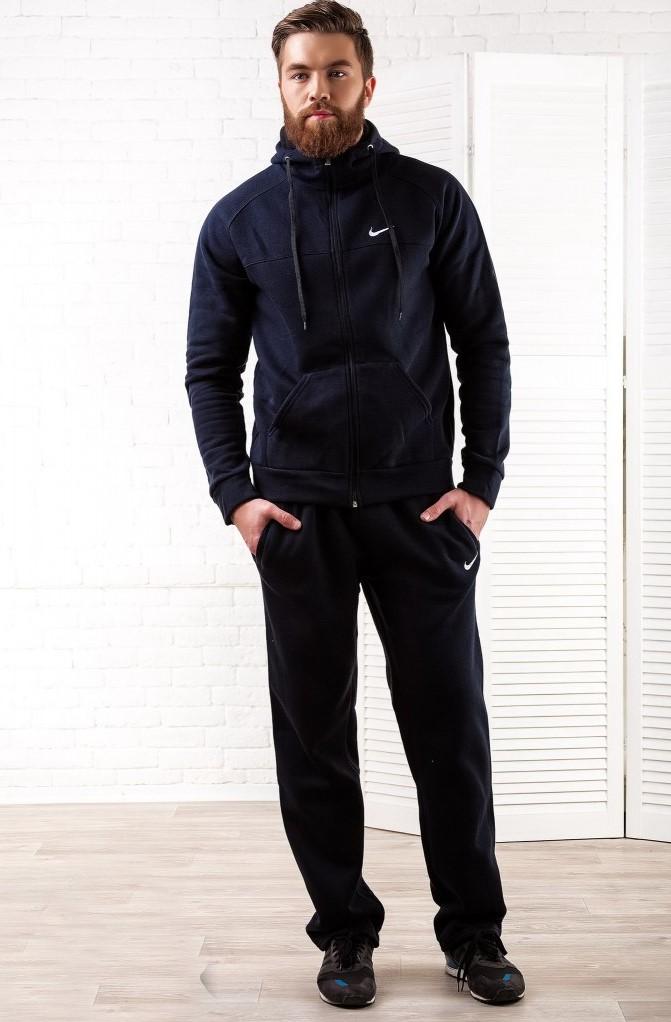 теплый зимний мужской спортивный костюм